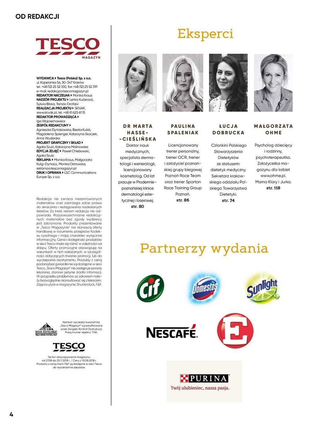 Gazetka promocyjna Tesco do 31/12/2018 str.4