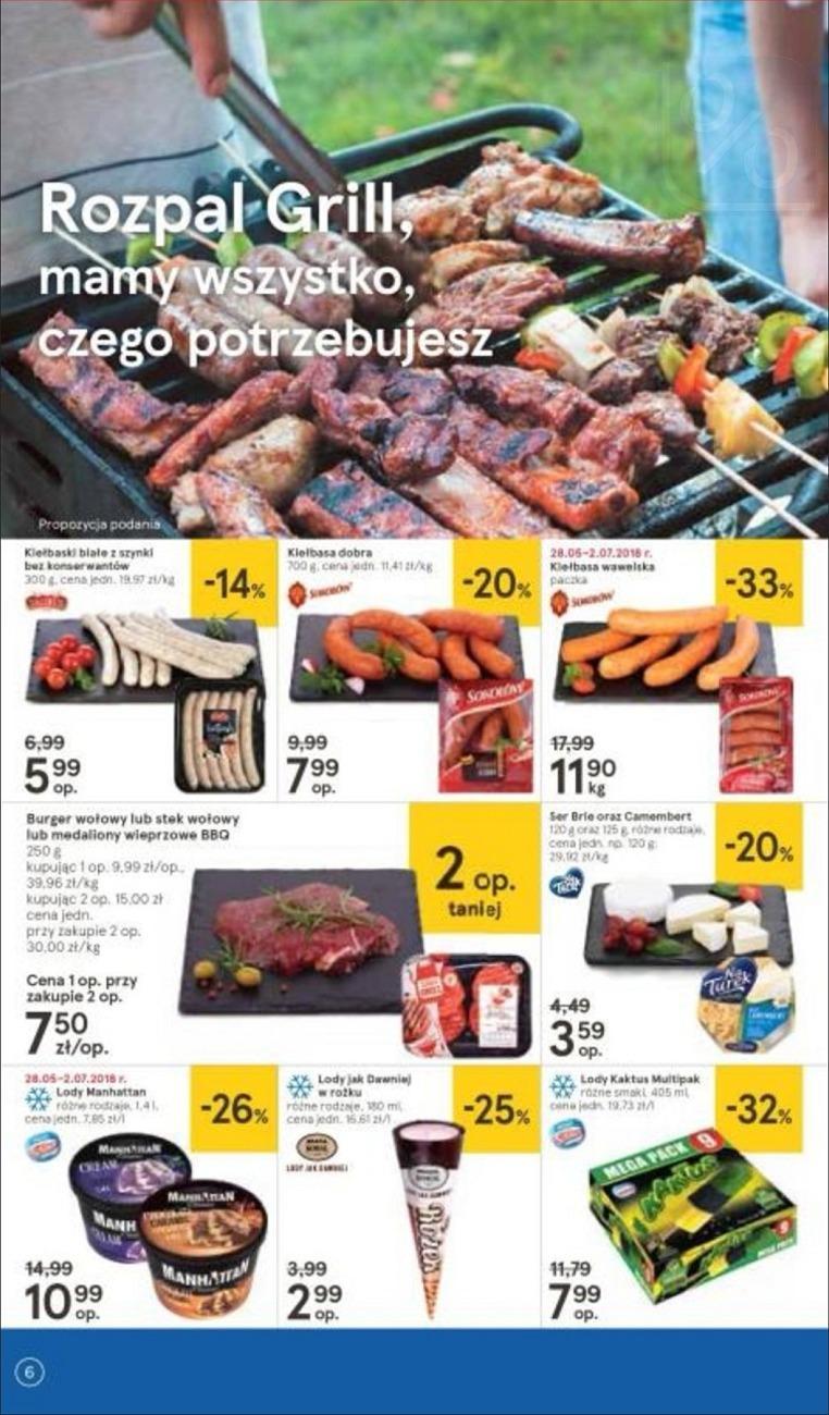 Gazetka promocyjna Tesco do 20/06/2018 str.6