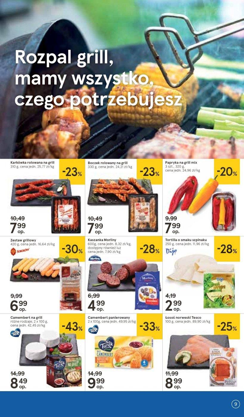 Gazetka promocyjna Tesco do 09/05/2018 str.8
