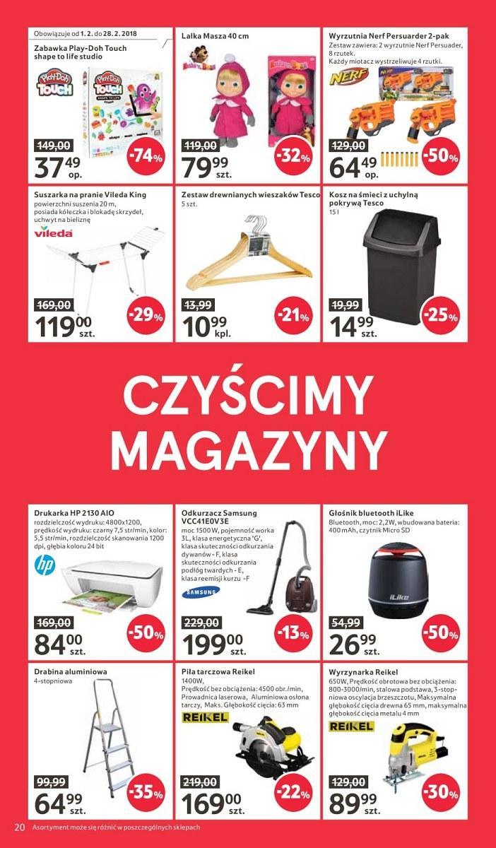 Gazetka promocyjna Tesco do 21/02/2018 str.20