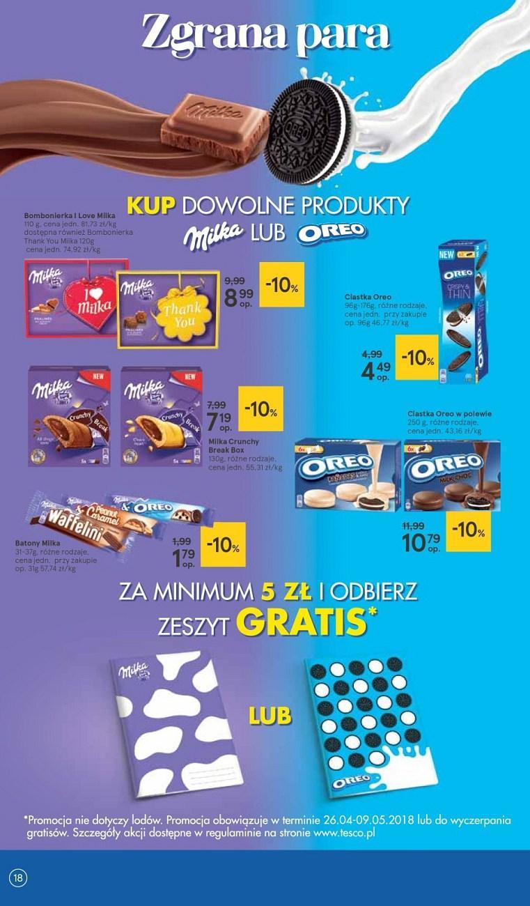 Gazetka promocyjna Tesco do 02/05/2018 str.17