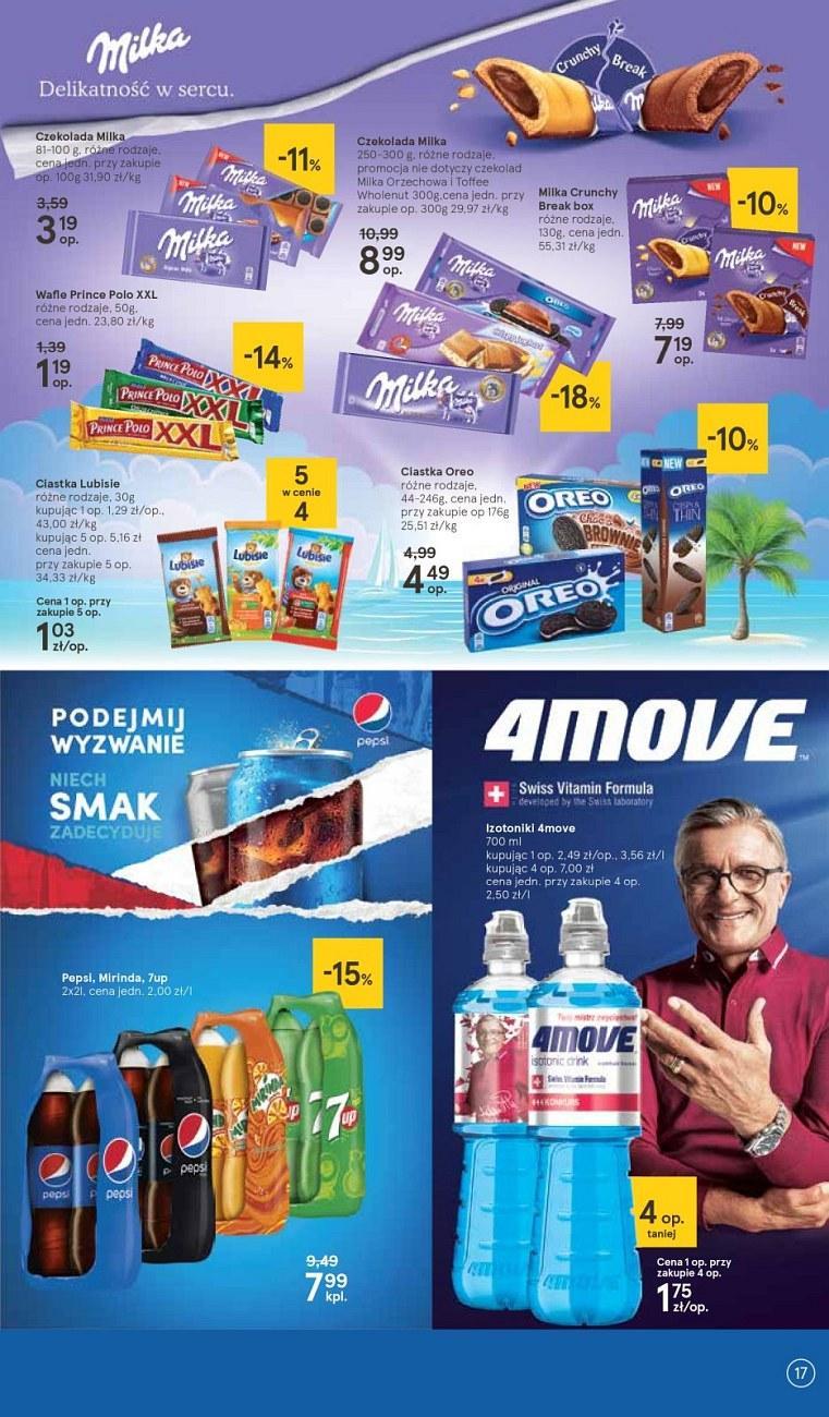 Gazetka promocyjna Tesco do 18/07/2018 str.17