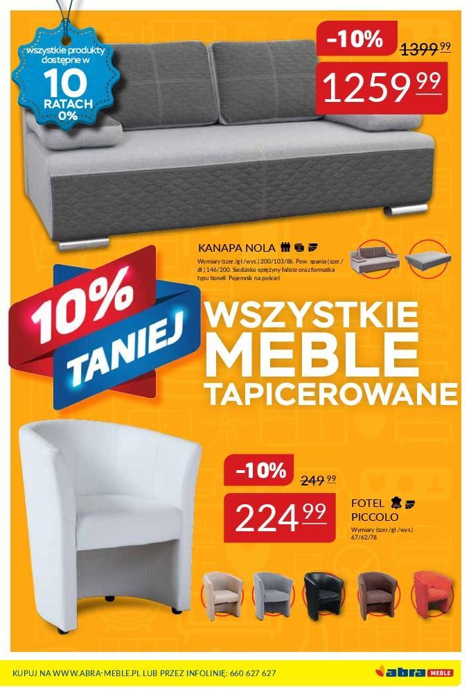 Gazetka promocyjna Abra Meble do 05/03/2018 str.4