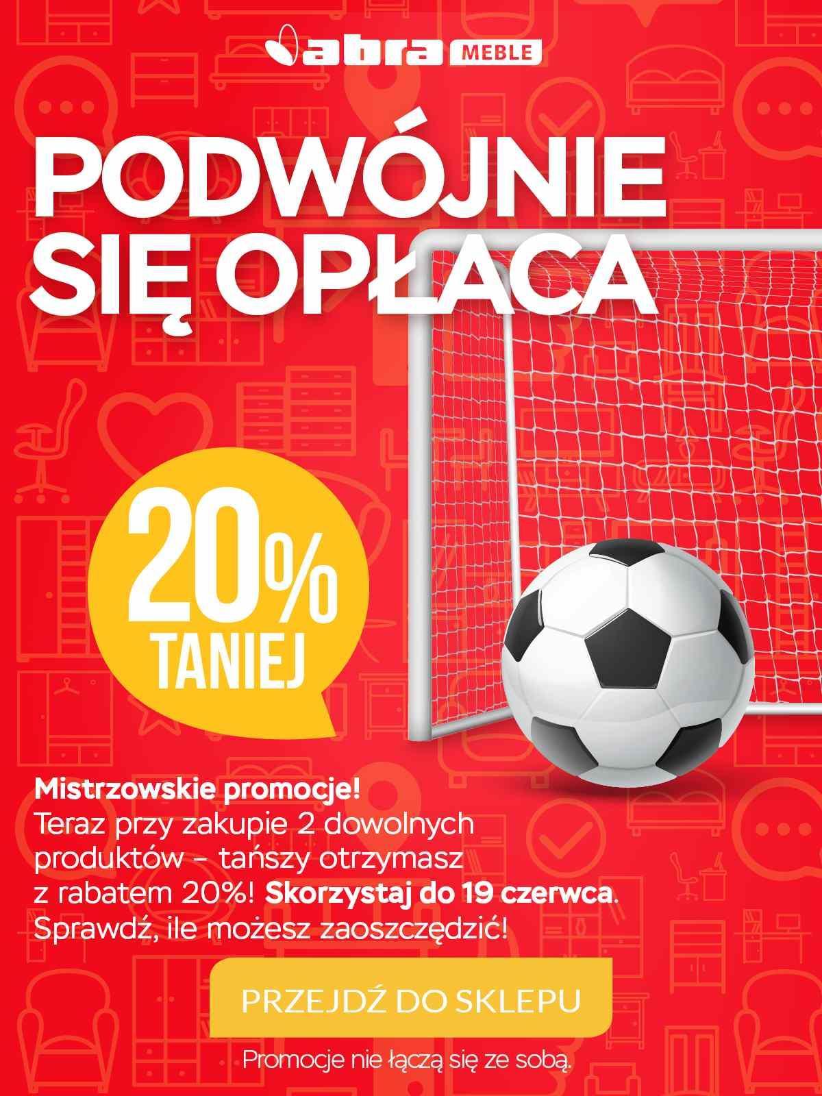Gazetka promocyjna Abra Meble do 19/06/2018 str.0