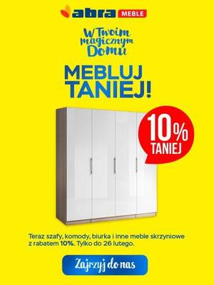 Mebluj taniej