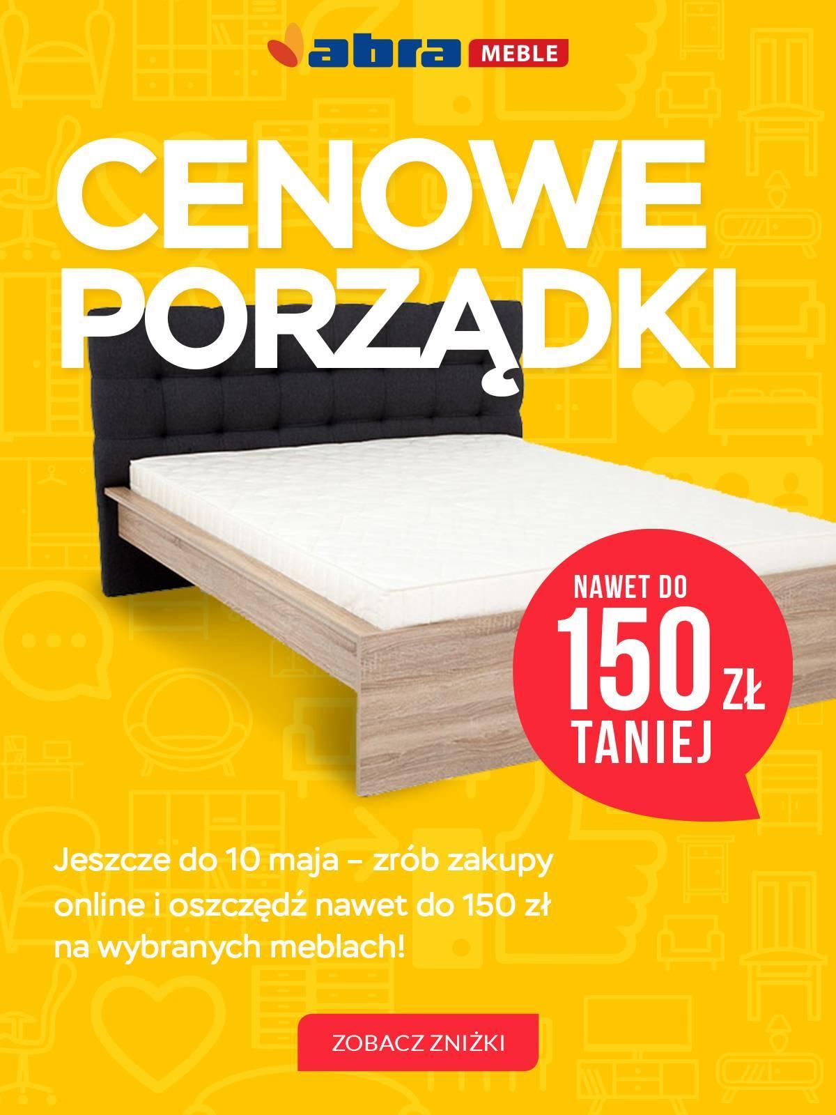 Gazetka promocyjna Abra Meble do 10/05/2018 str.0