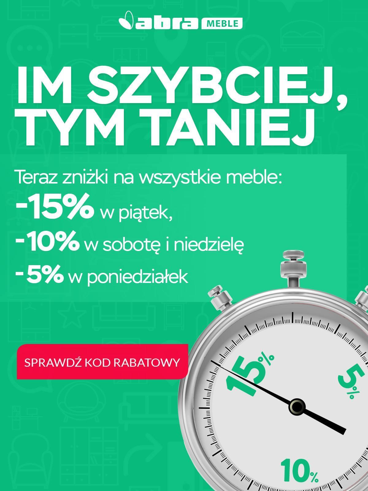 Gazetka promocyjna Abra Meble do 29/10/2018 str.0