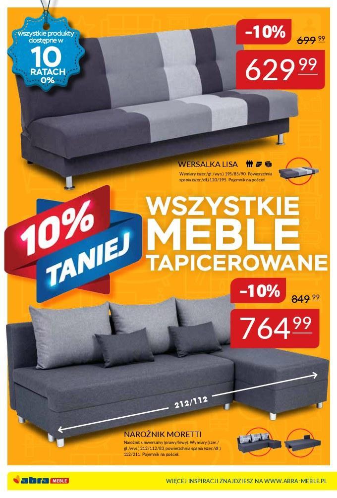 Gazetka promocyjna Abra Meble do 05/03/2018 str.1