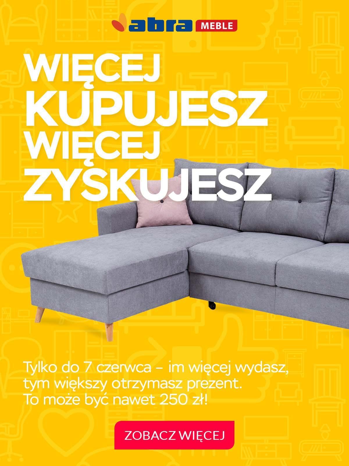 Gazetka promocyjna Abra Meble do 07/06/2018 str.0