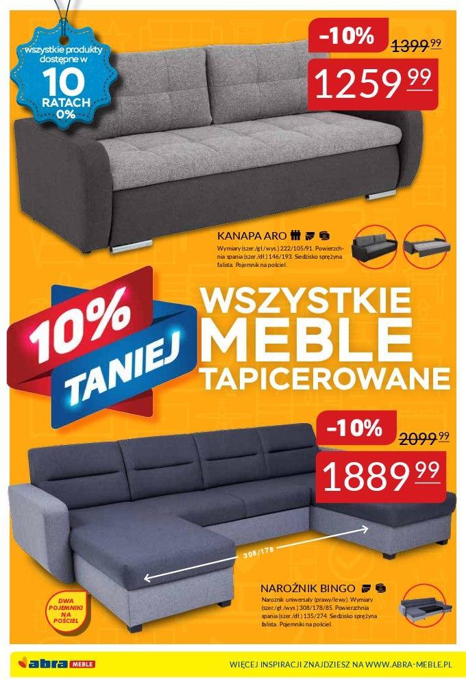 Gazetka promocyjna Abra Meble do 05/03/2018 str.3