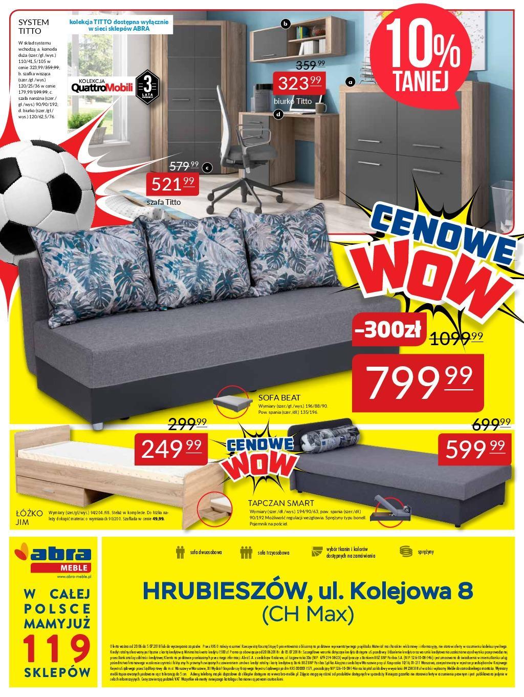 Gazetka promocyjna Abra Meble do 05/07/2018 str.5