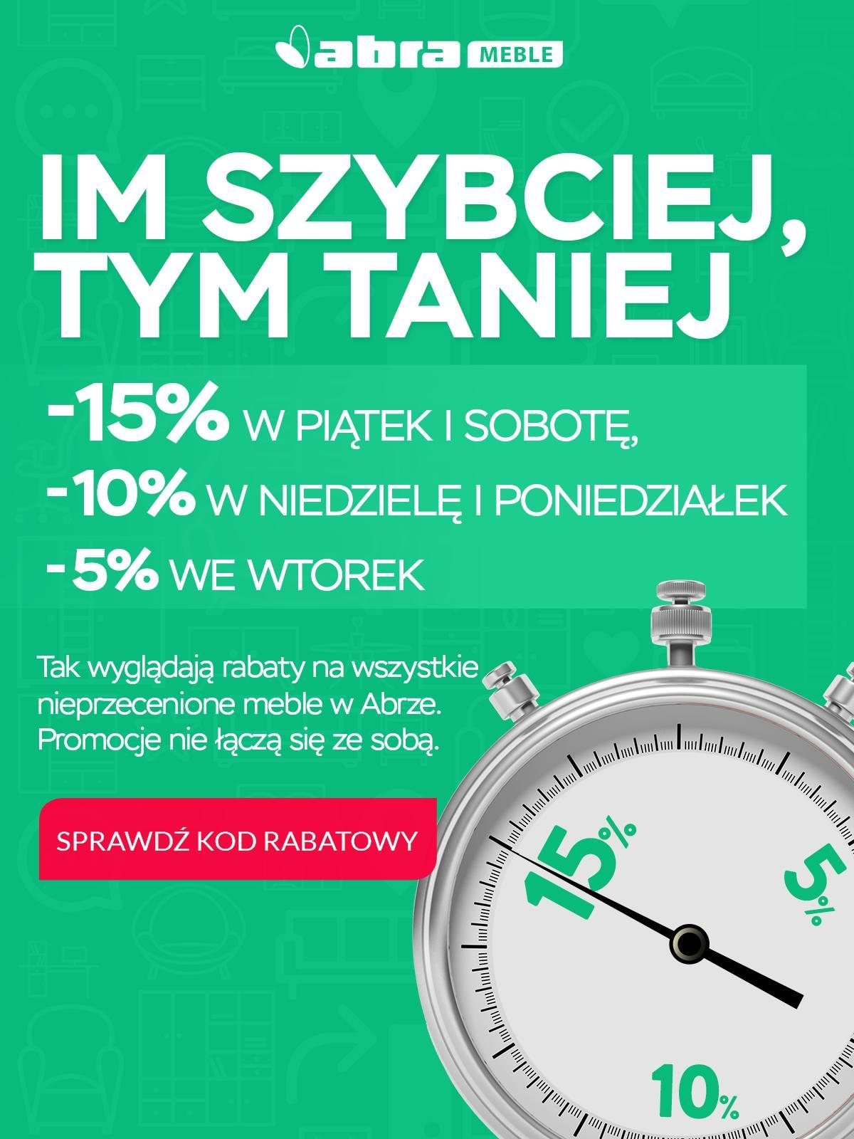 Gazetka promocyjna Abra Meble do 14/08/2018 str.0