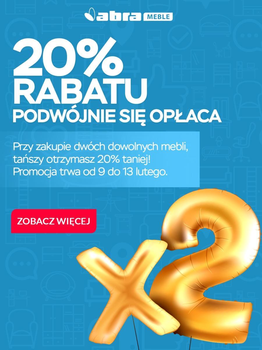 Gazetka promocyjna Abra Meble do 13/02/2018 str.0