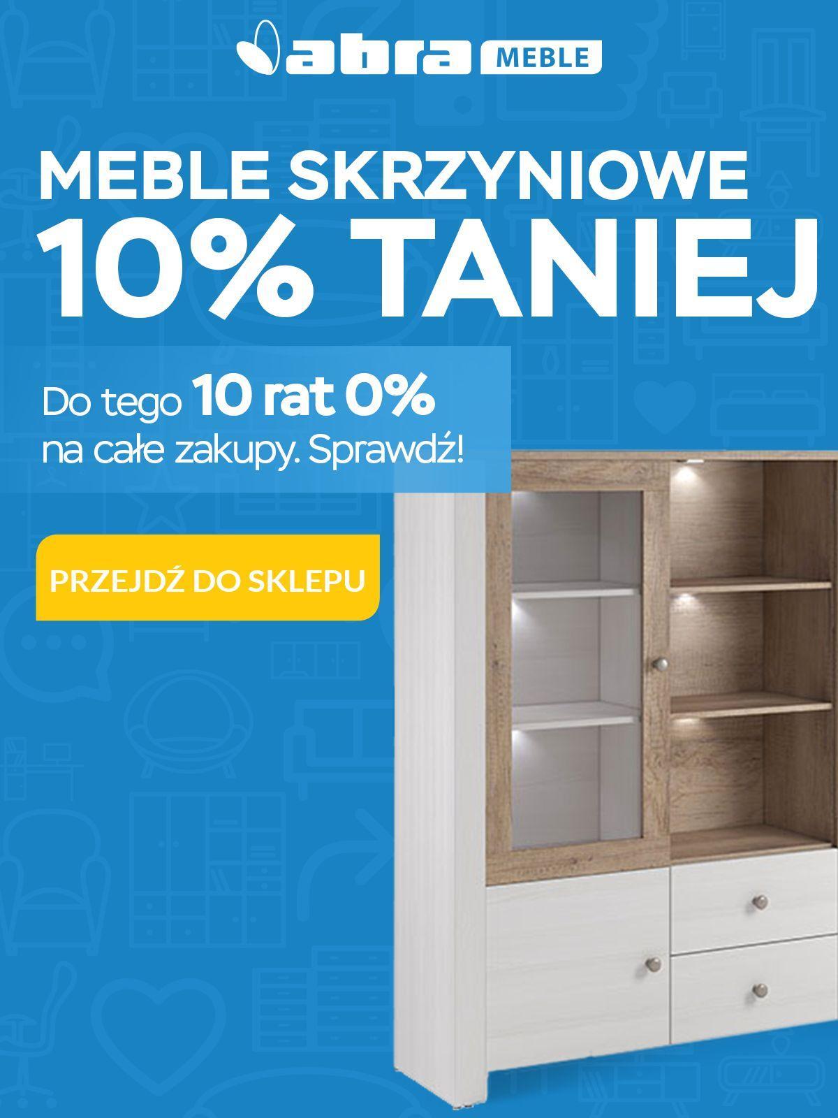 Gazetka promocyjna Abra Meble do 20/03/2018 str.0