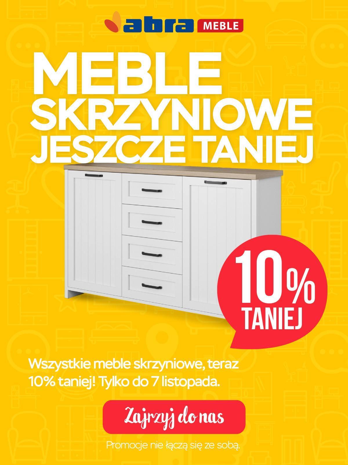 gazetka promocyjna i reklamowa abra meble od 02112018