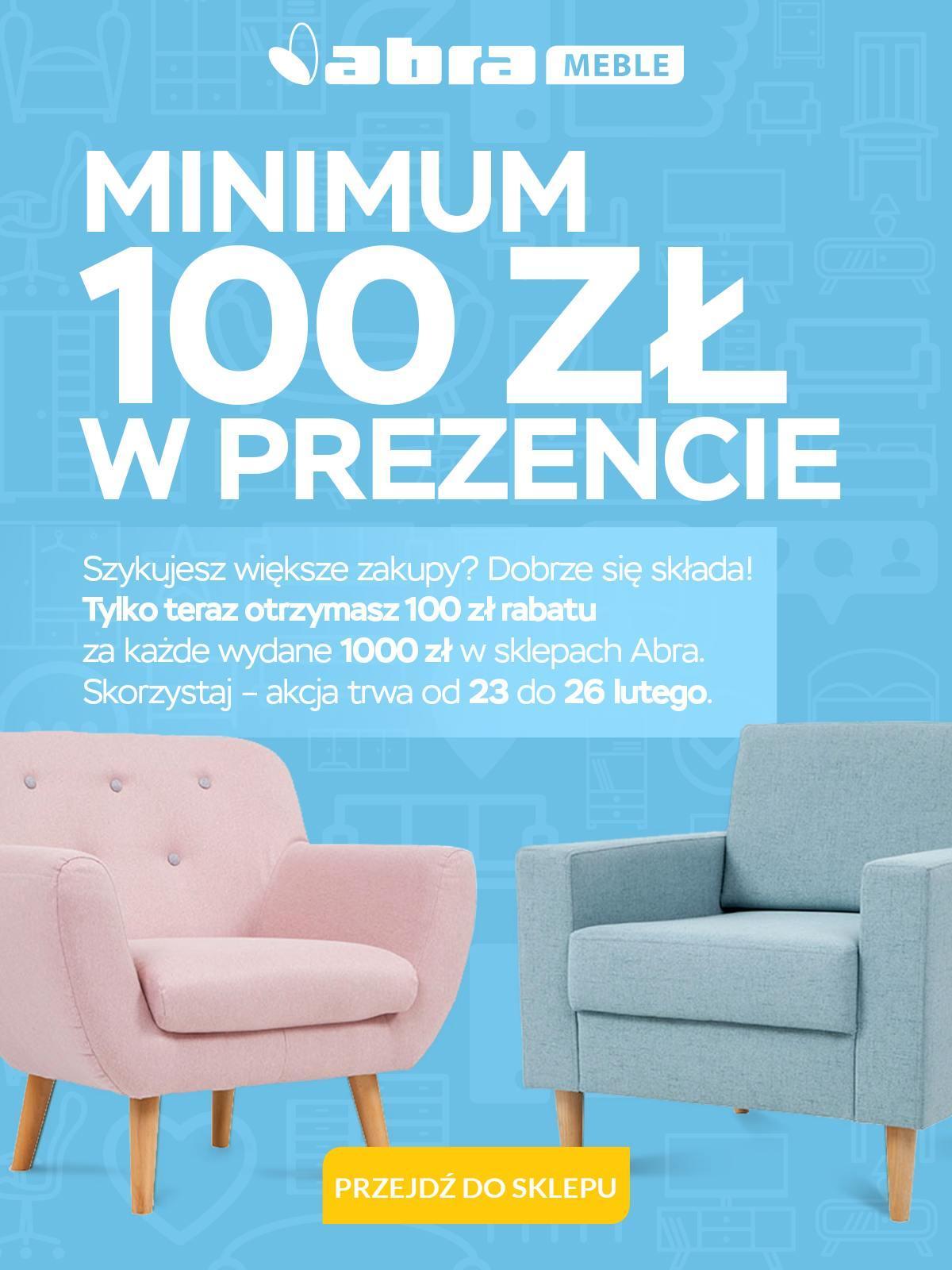 Gazetka promocyjna Abra Meble do 26/02/2018 str.0