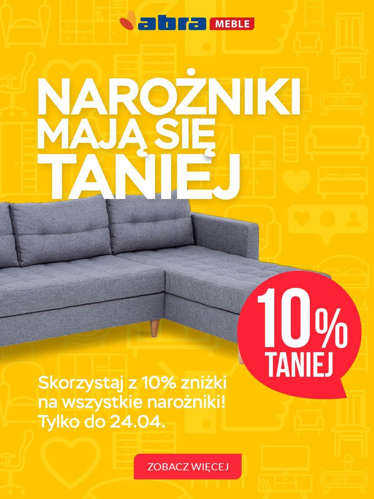 Gazetka promocyjna Abra Meble do 24/04/2018 str.0