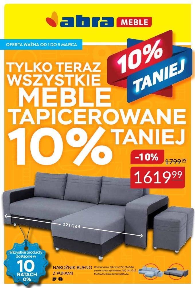 Gazetka promocyjna Abra Meble do 05/03/2018 str.0