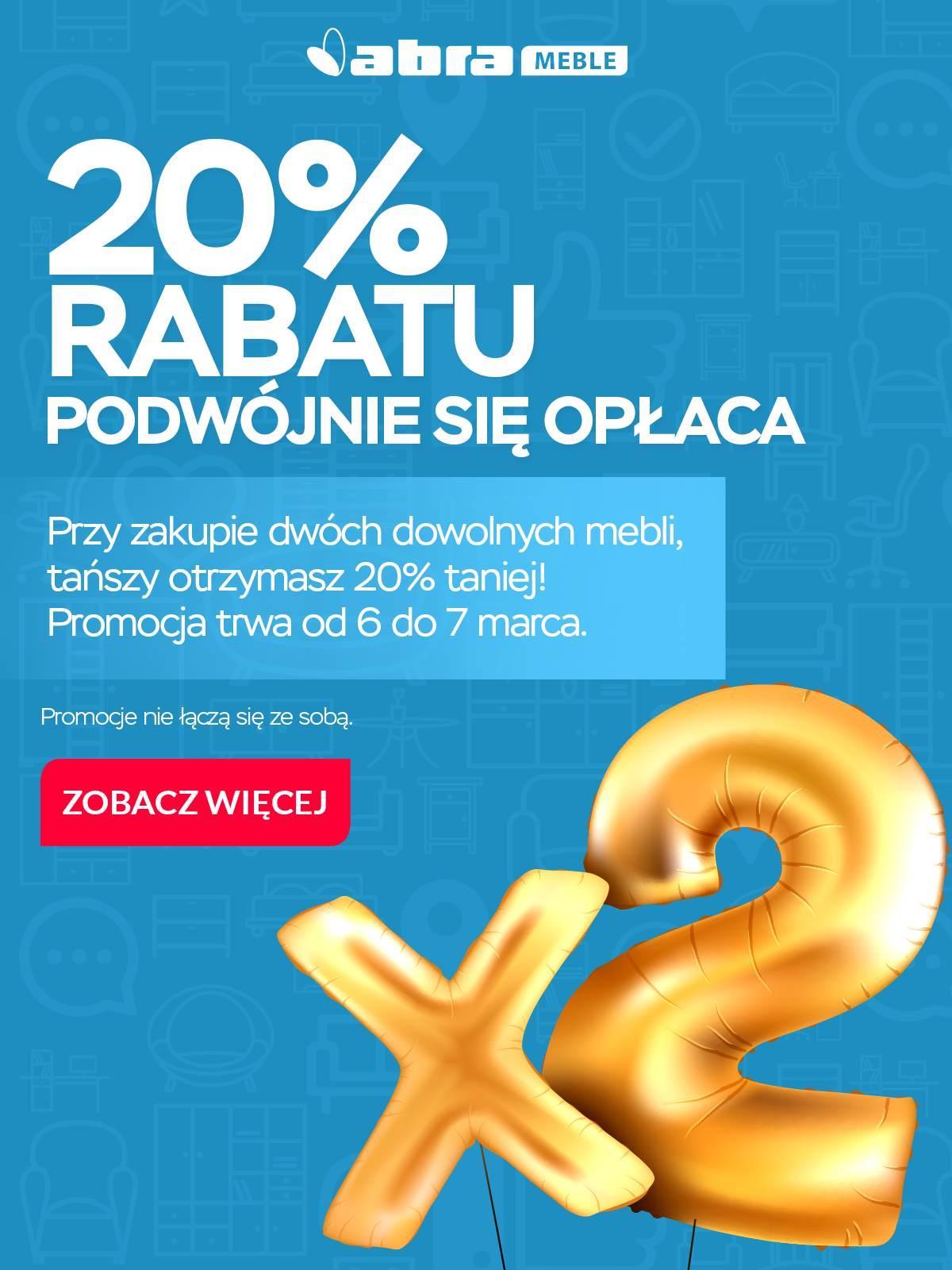 Gazetka promocyjna Abra Meble do 07/03/2018 str.0