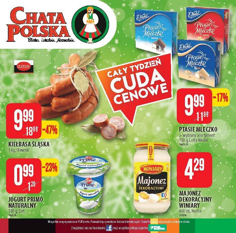 Gazetka promocyjna Chata Polska do 12/12/2018 str.7