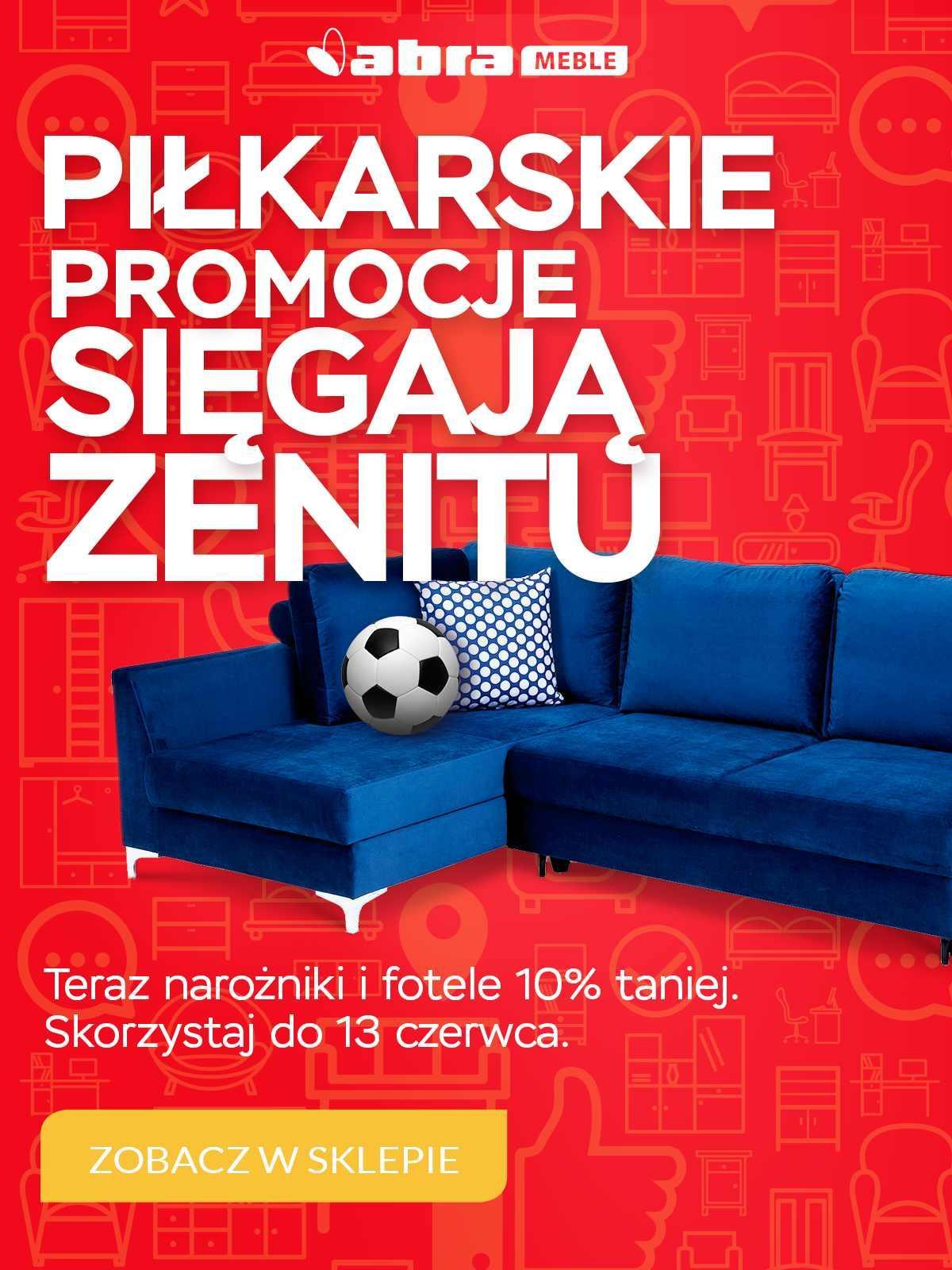 Gazetka promocyjna Abra Meble do 13/06/2018 str.0