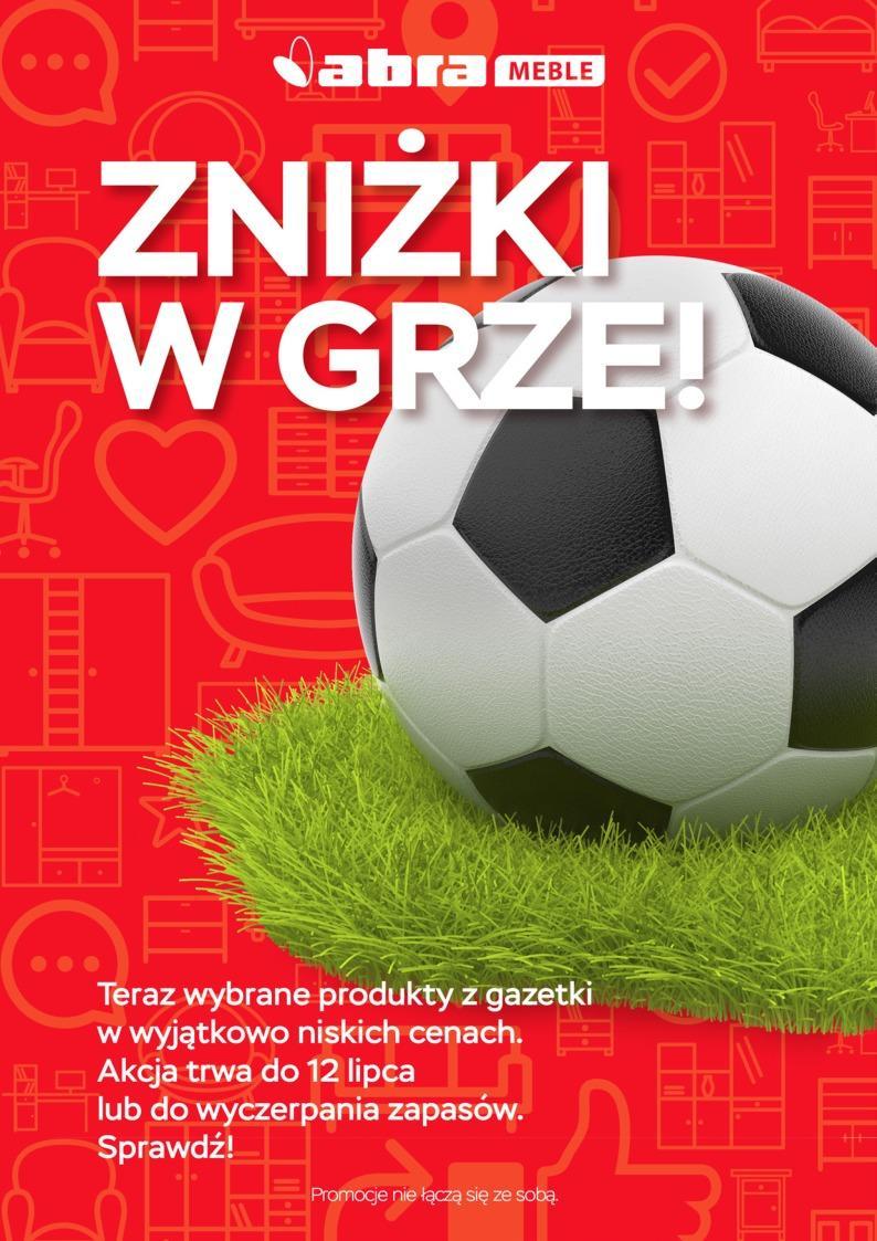 Gazetka promocyjna Abra Meble do 12/07/2018 str.0