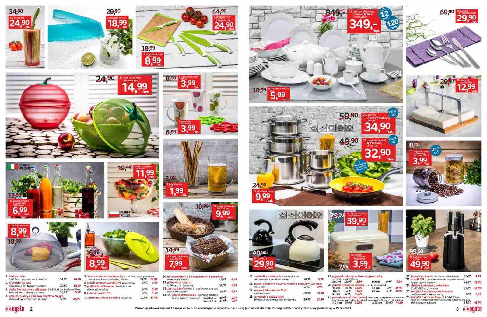 gazetka promocyjna i reklamowa agata meble od 16052016