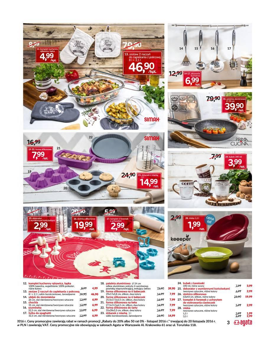 gazetka promocyjna i reklamowa agata meble od 14112016