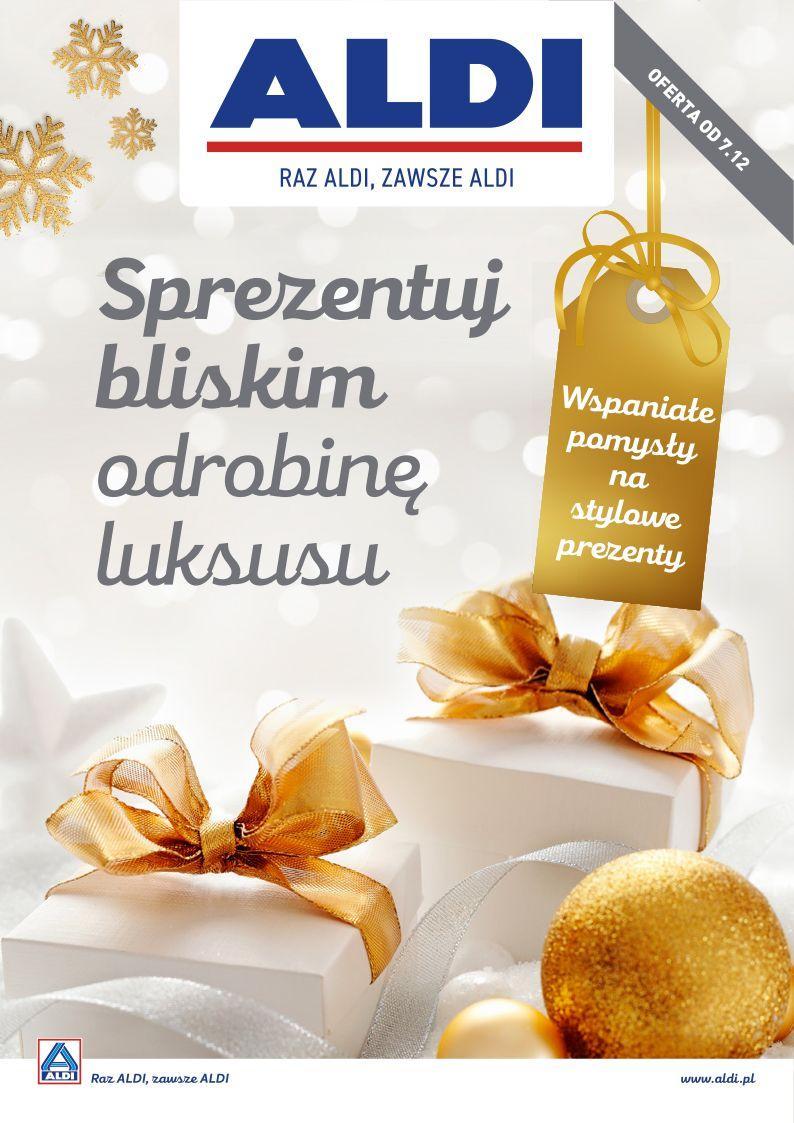 Gazetka promocyjna ALDI do 07/12/2019 str.1
