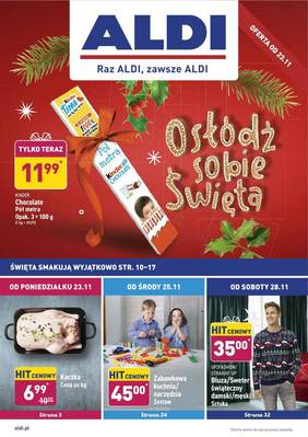ALDI gazetka - od 23/11/2020 do 28/11/2020