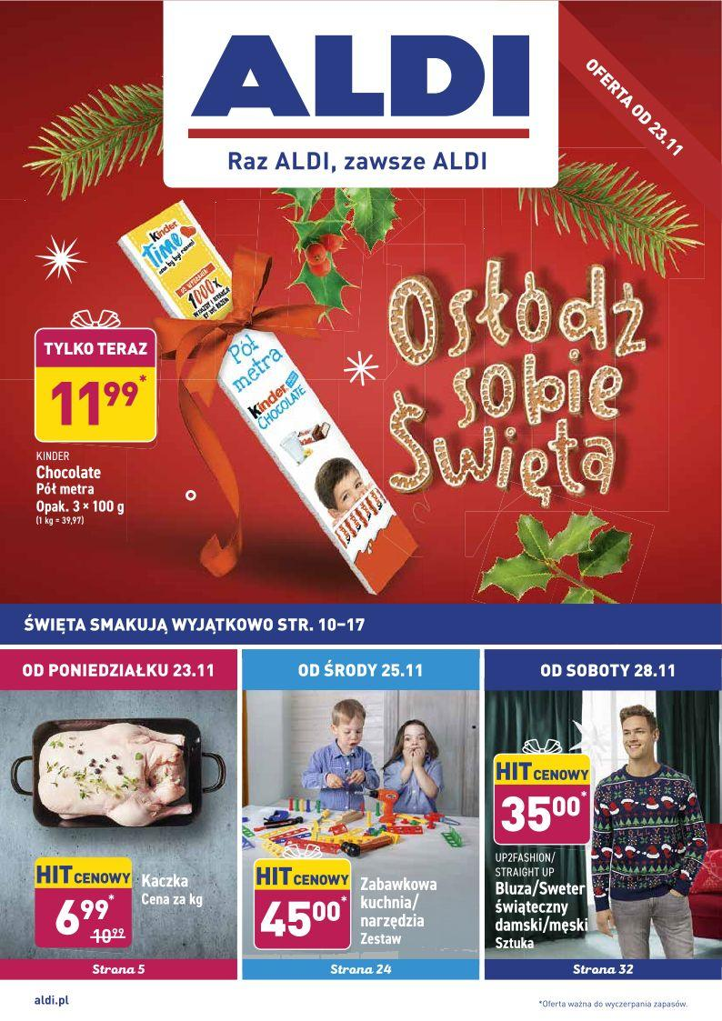 Gazetka promocyjna ALDI do 28/11/2020 str.0
