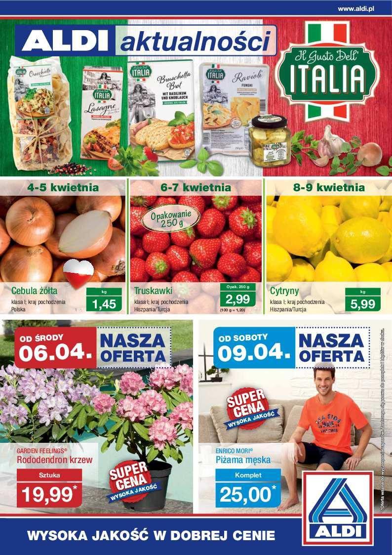 Gazetka promocyjna ALDI do 10/04/2016 str.0