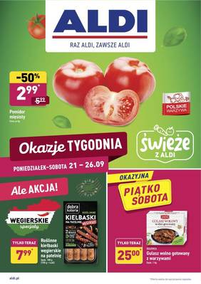 ALDI gazetka - od 21/09/2020 do 27/09/2020