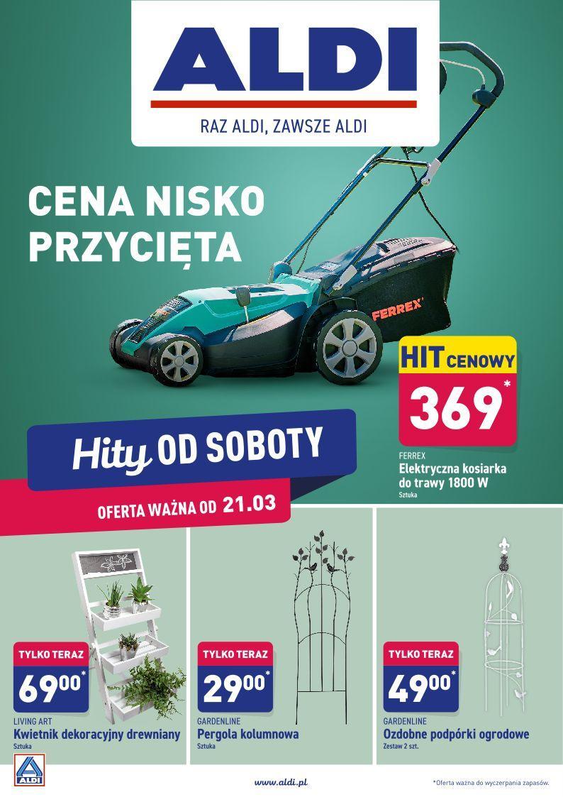 Gazetka promocyjna ALDI do 21/03/2020 str.1