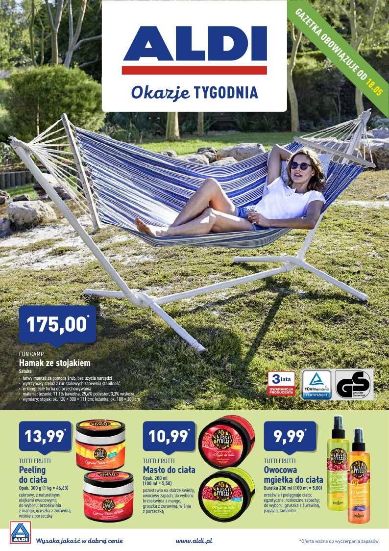 Gazetka promocyjna ALDI do 18/05/2019 str.0