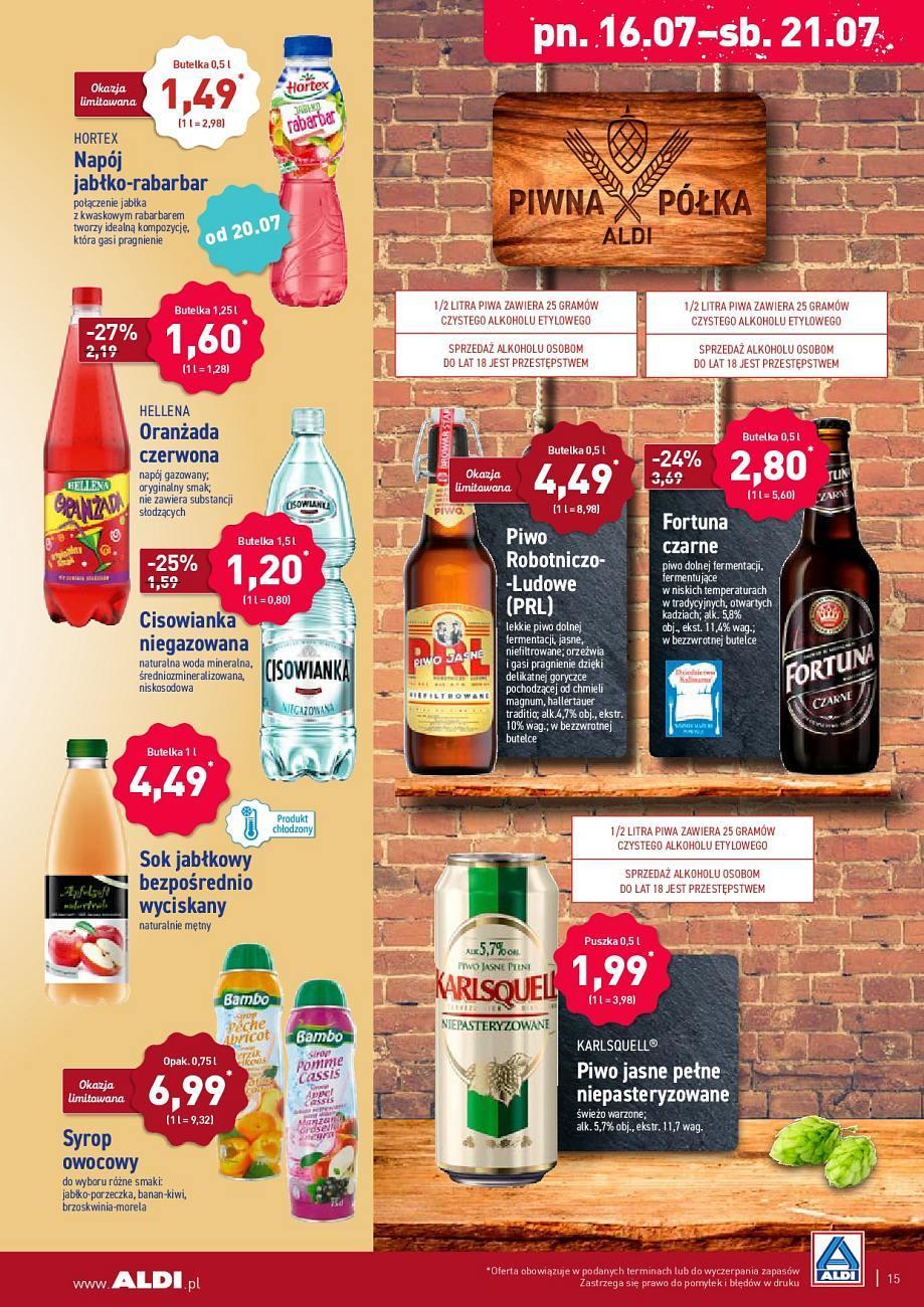 Gazetka promocyjna ALDI do 21/07/2018 str.14