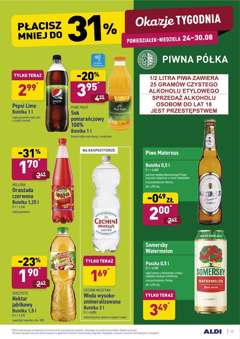 Gazetka promocyjna ALDI do 30/08/2020 str.16