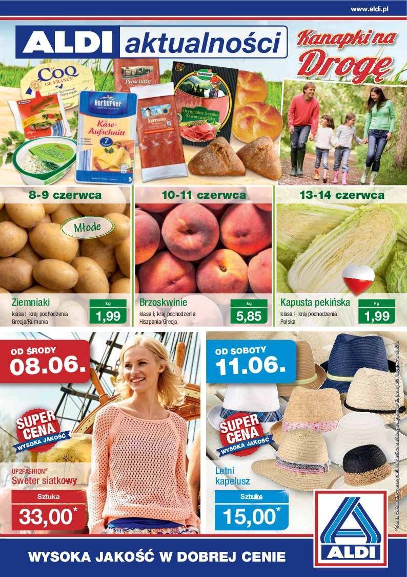 Gazetka promocyjna ALDI do 12/06/2016 str.0