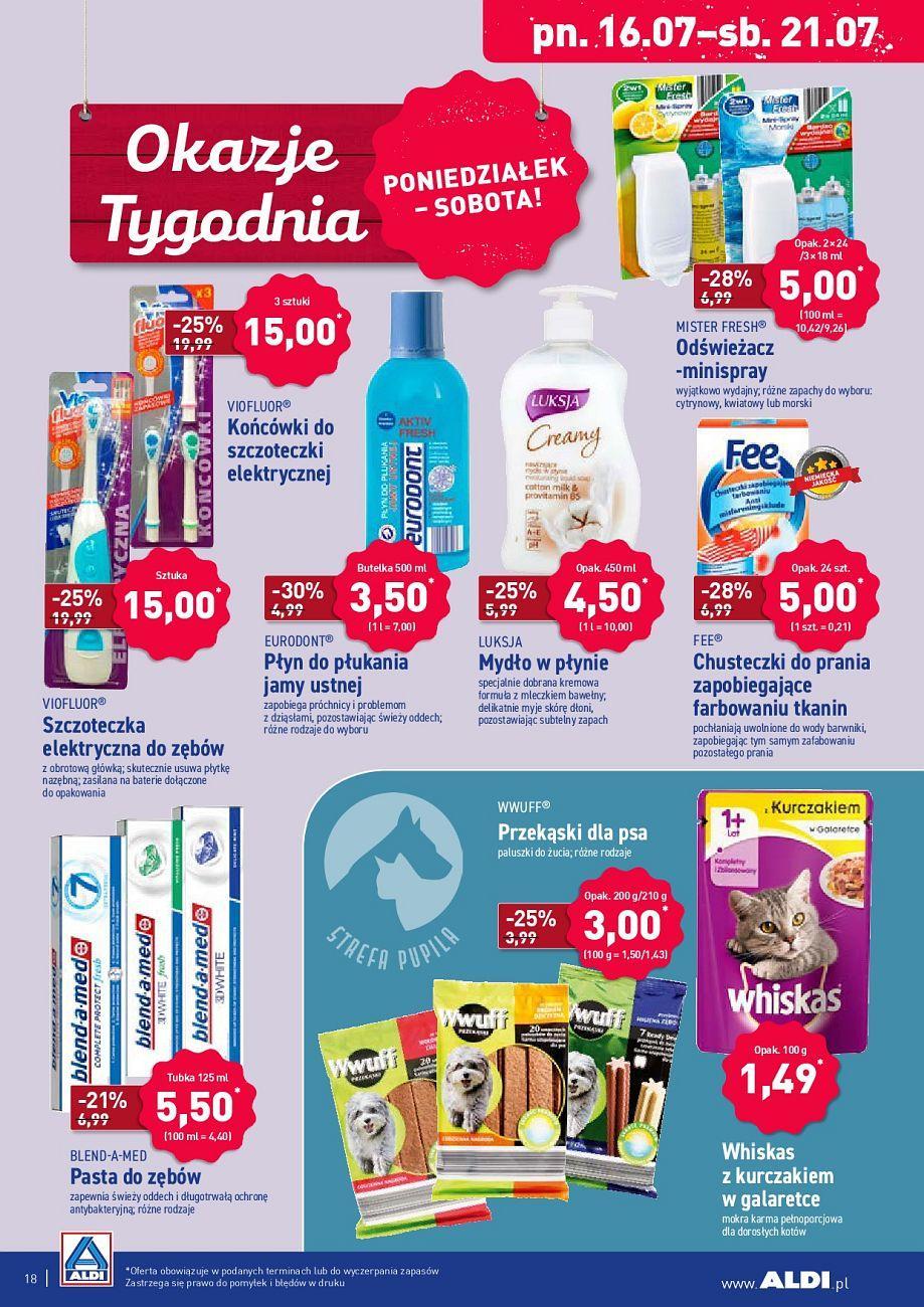 Gazetka promocyjna ALDI do 21/07/2018 str.18