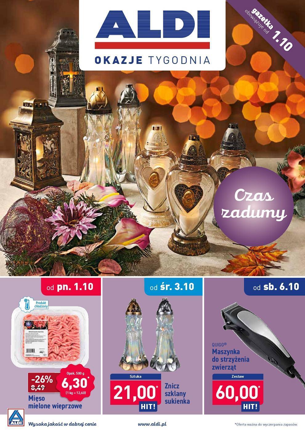 Gazetka promocyjna ALDI do 07/10/2018 str.0