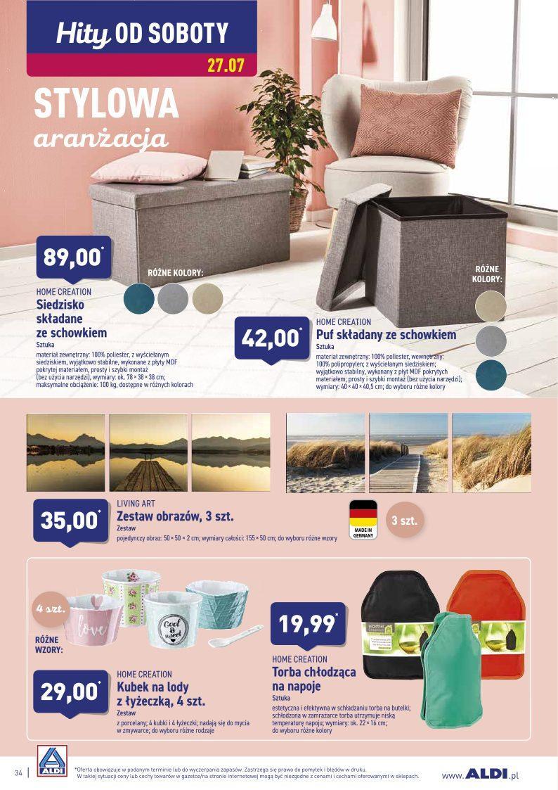 Gazetka promocyjna ALDI do 28/07/2019 str.34