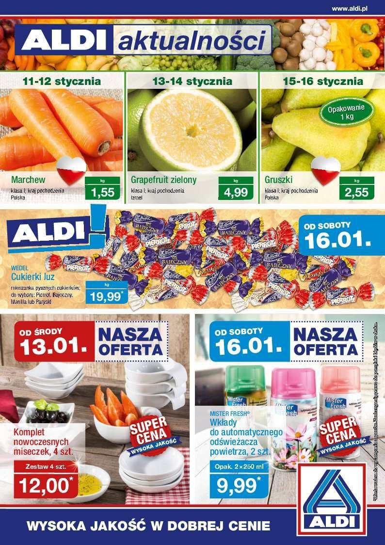 Gazetka promocyjna ALDI do 17/01/2016 str.0