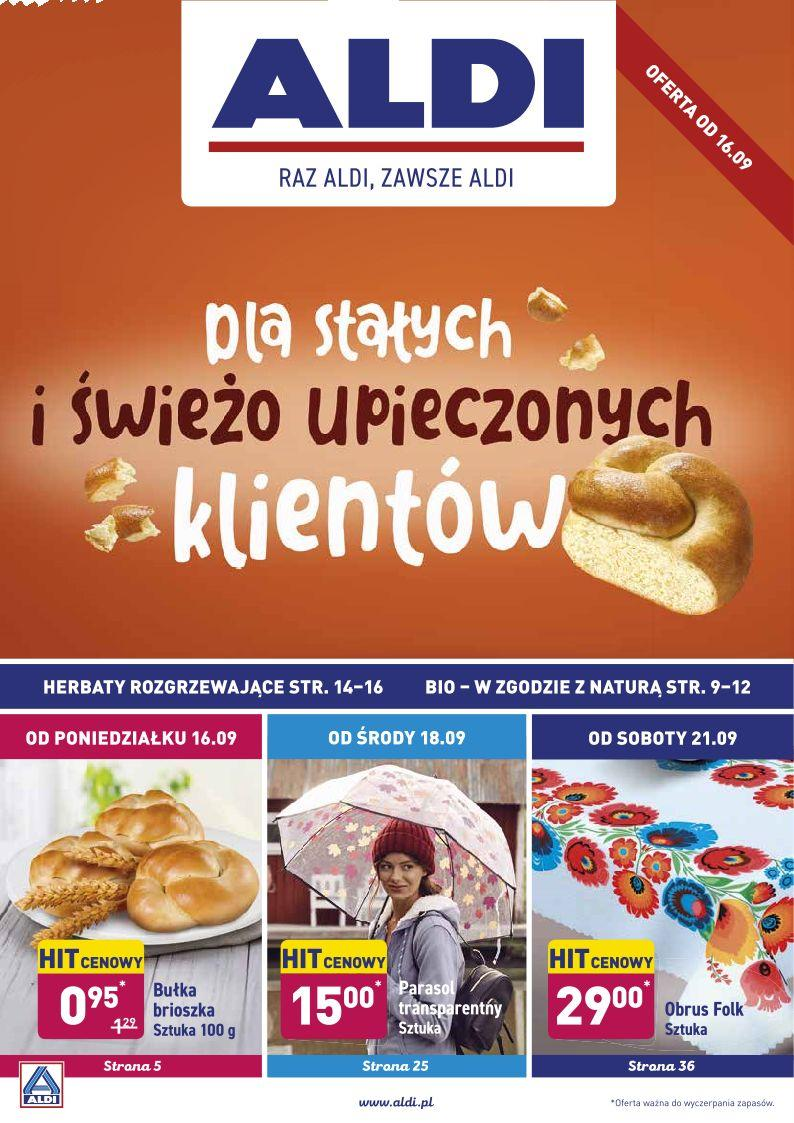 Gazetka promocyjna ALDI do 21/09/2019 str.1