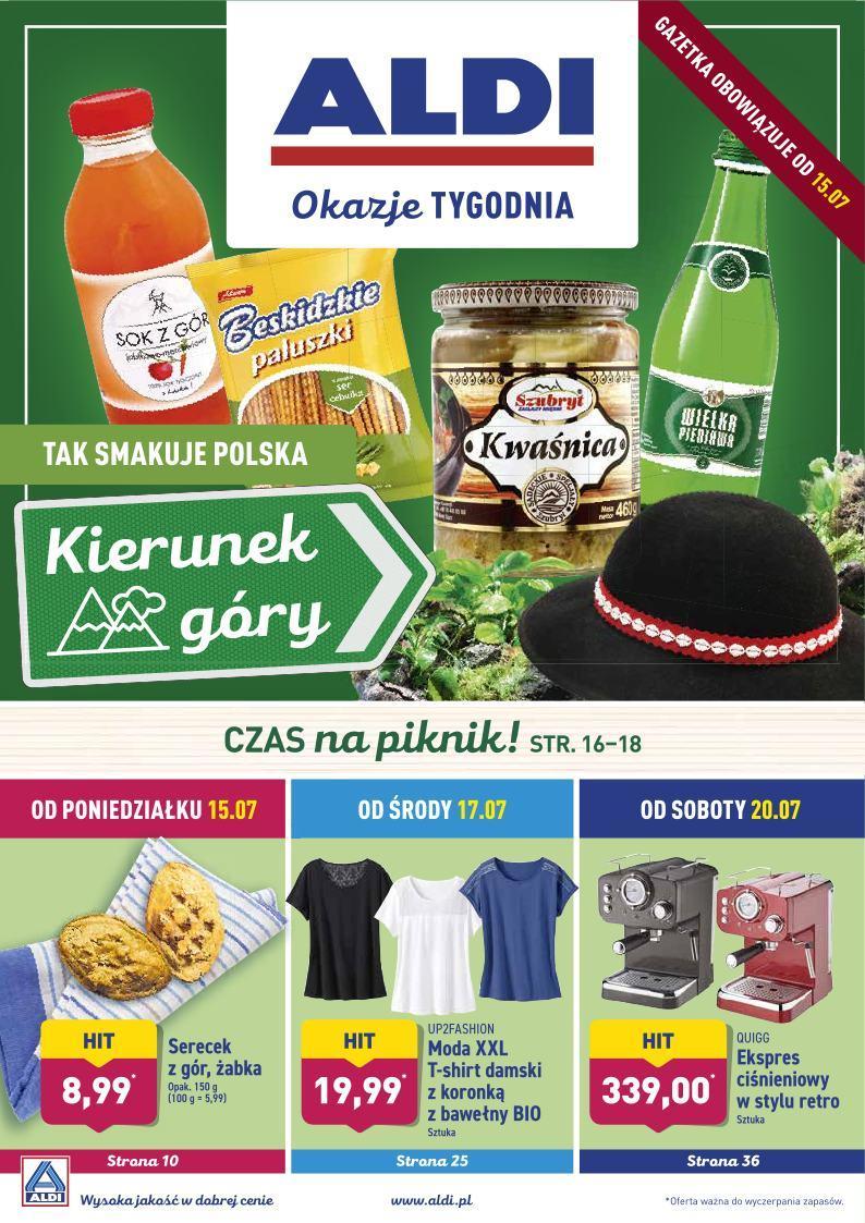 Gazetka promocyjna ALDI do 20/07/2019 str.0