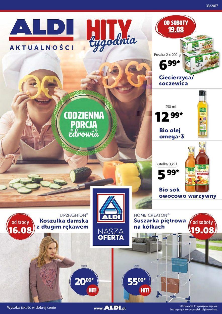 Gazetka promocyjna ALDI do 22/08/2017 str.0