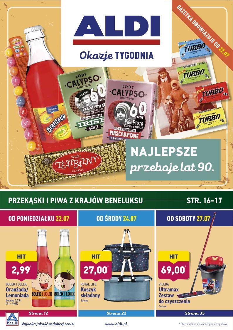 Gazetka promocyjna ALDI do 28/07/2019 str.1