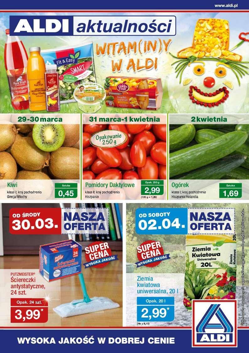 Gazetka promocyjna ALDI do 03/04/2016 str.0