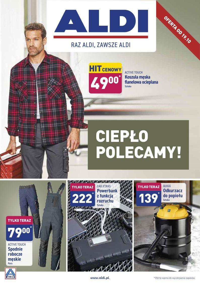 Gazetka promocyjna ALDI do 19/10/2019 str.0