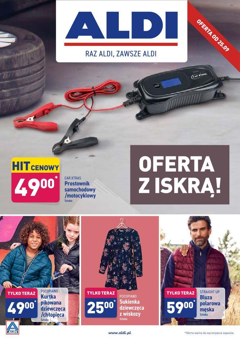 Gazetka promocyjna ALDI do 28/09/2019 str.1
