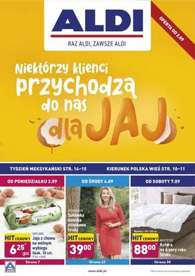 ALDI gazetka - od 02/09/2019 do 07/09/2019